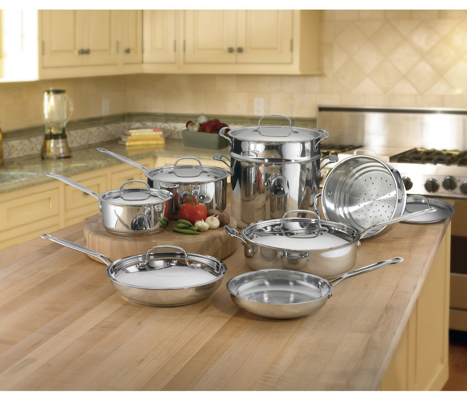 Cuisinart classic stainless cookware model 85-14sa